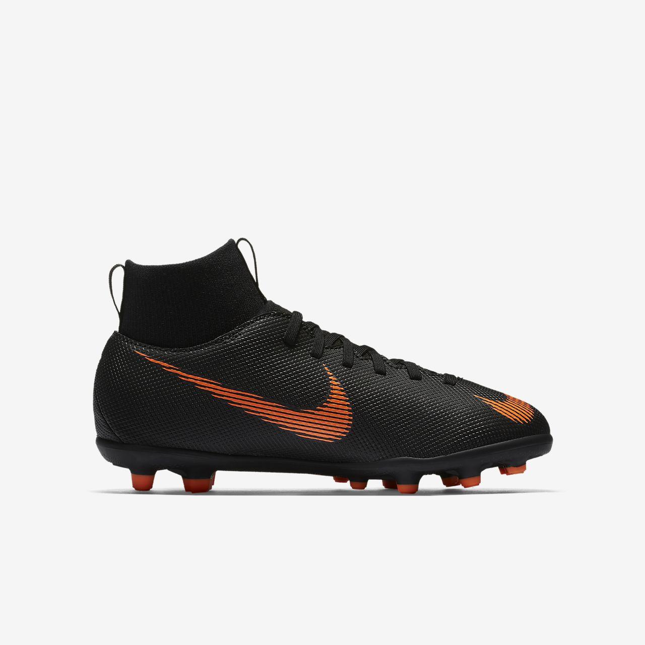 best service a8b21 c046a (enfant) Nike Chaussure de football Mercurial Superfly VI Club CR7 MG Junior