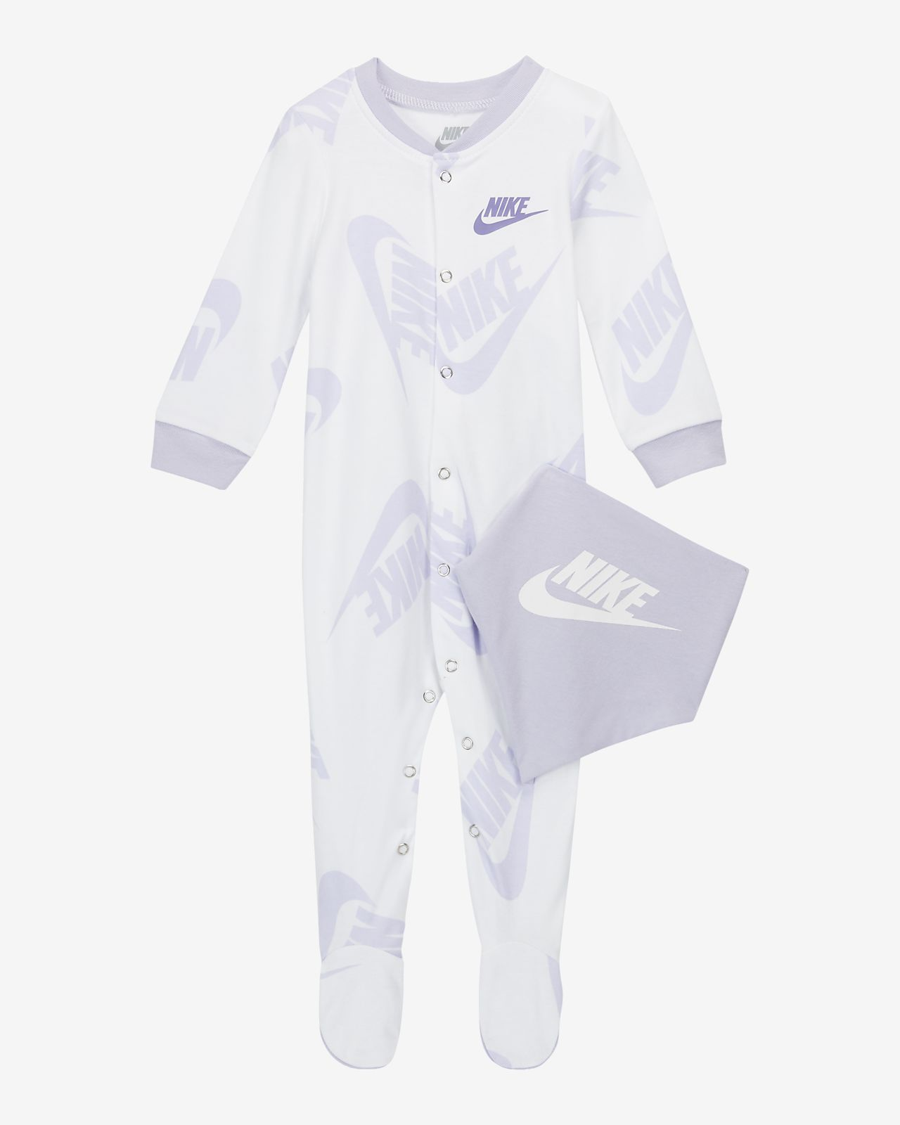 Nike Sportswear Baby (0-9M) Coverall and Bib Set
