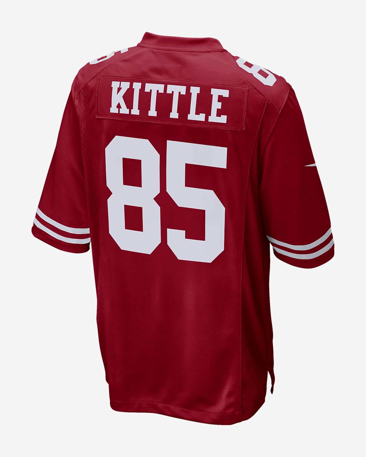 Cheap NFL San Francisco 49ers (George Kittle) Men's Game Football Jersey  for cheap