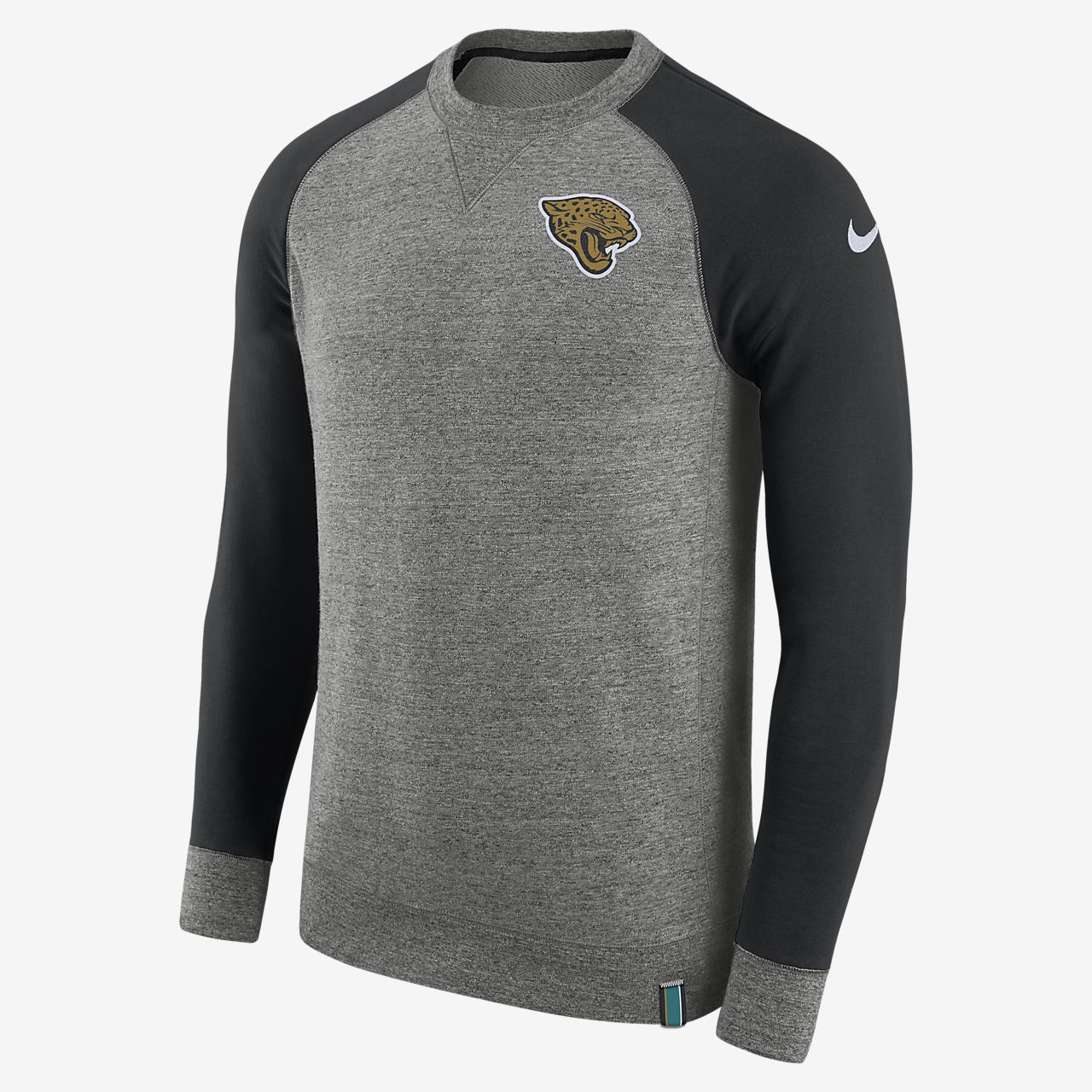 Sweat-shirt Nike AW77 (NFL Jaguars) pour Homme