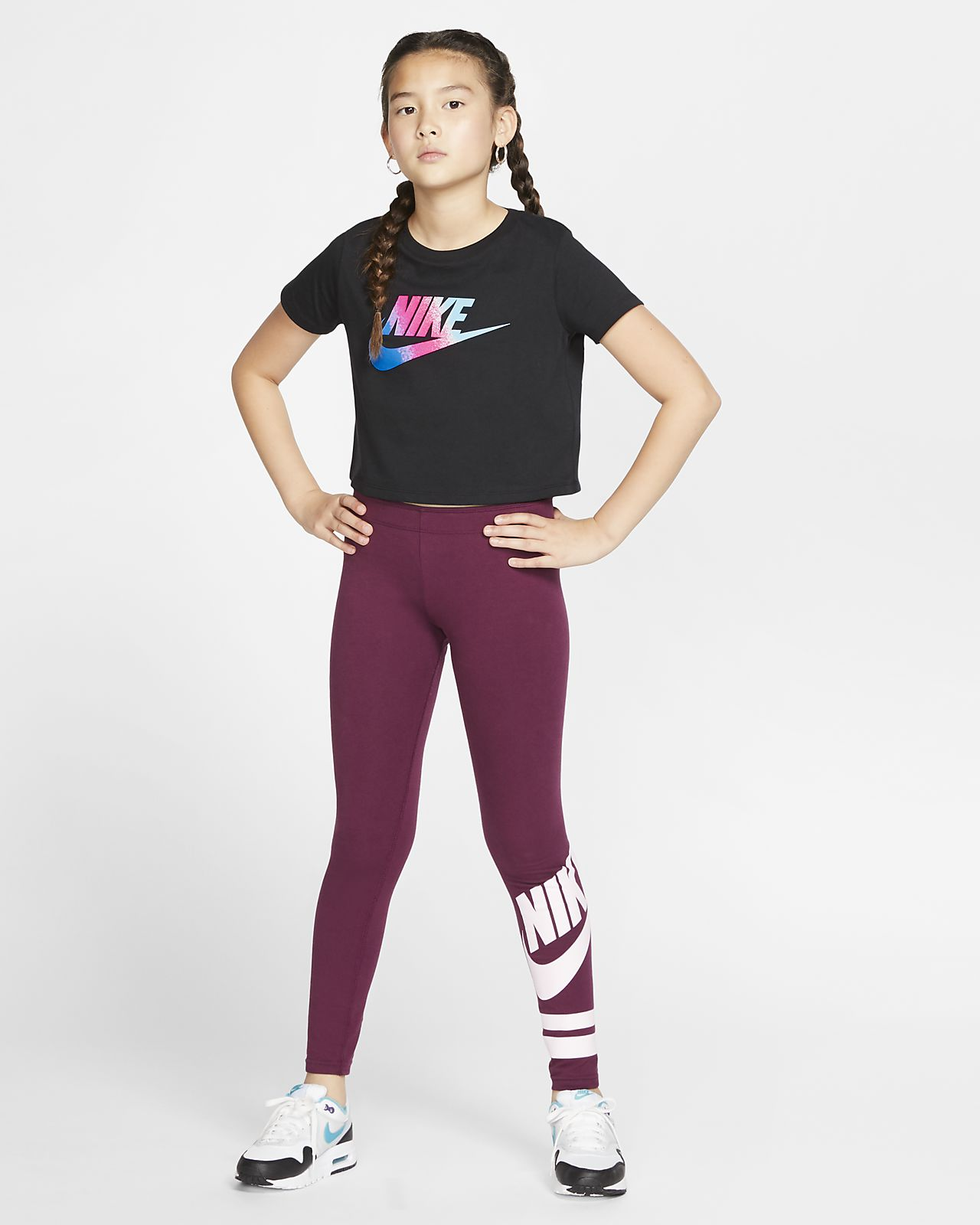 great prices where can i buy best price Nike Sportswear Older Kids' (Girls') Cropped T-Shirt