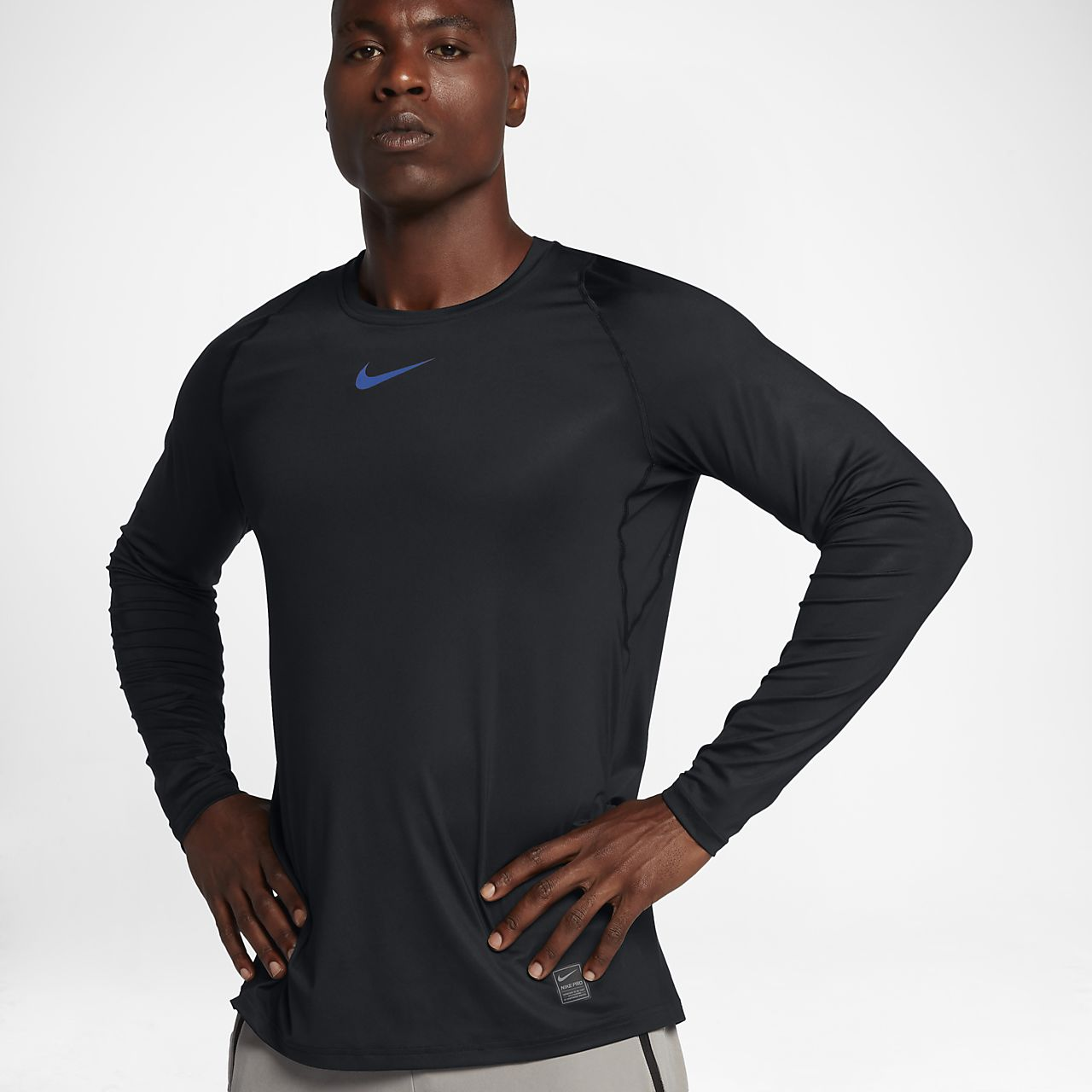 ... Nike Pro Colorburst Men's Long Sleeve Top