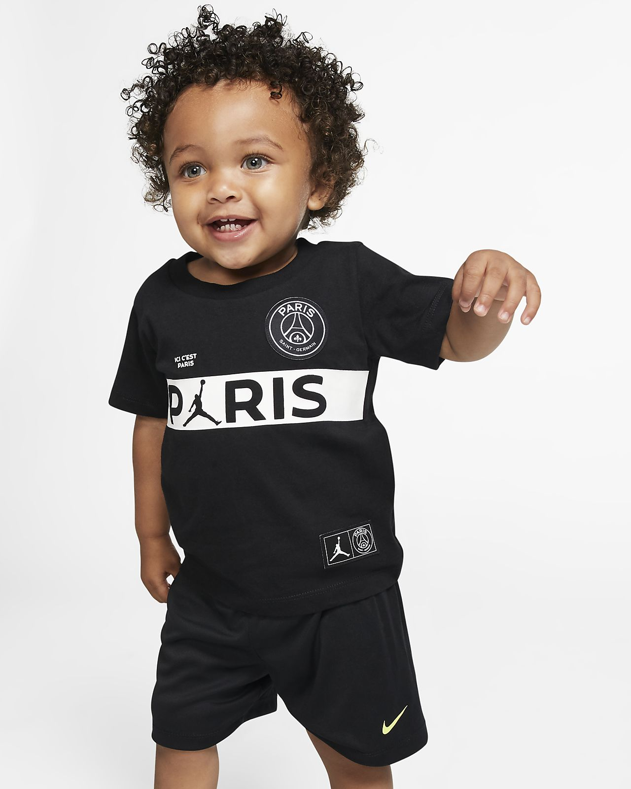 tee shirt manches courtes psg pour petit enfant fr. Black Bedroom Furniture Sets. Home Design Ideas