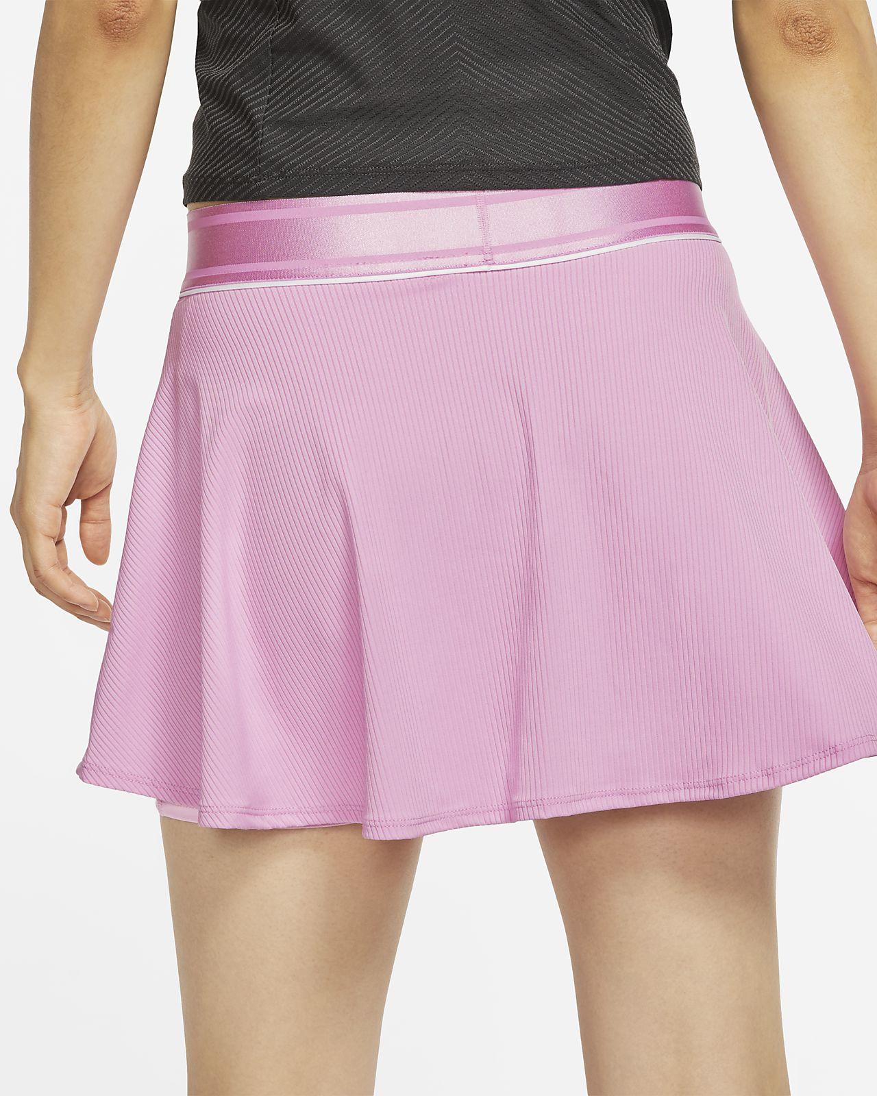 Nike Court Dri FIT Flouncy Tennis Skirt Women gridiron white gridiron