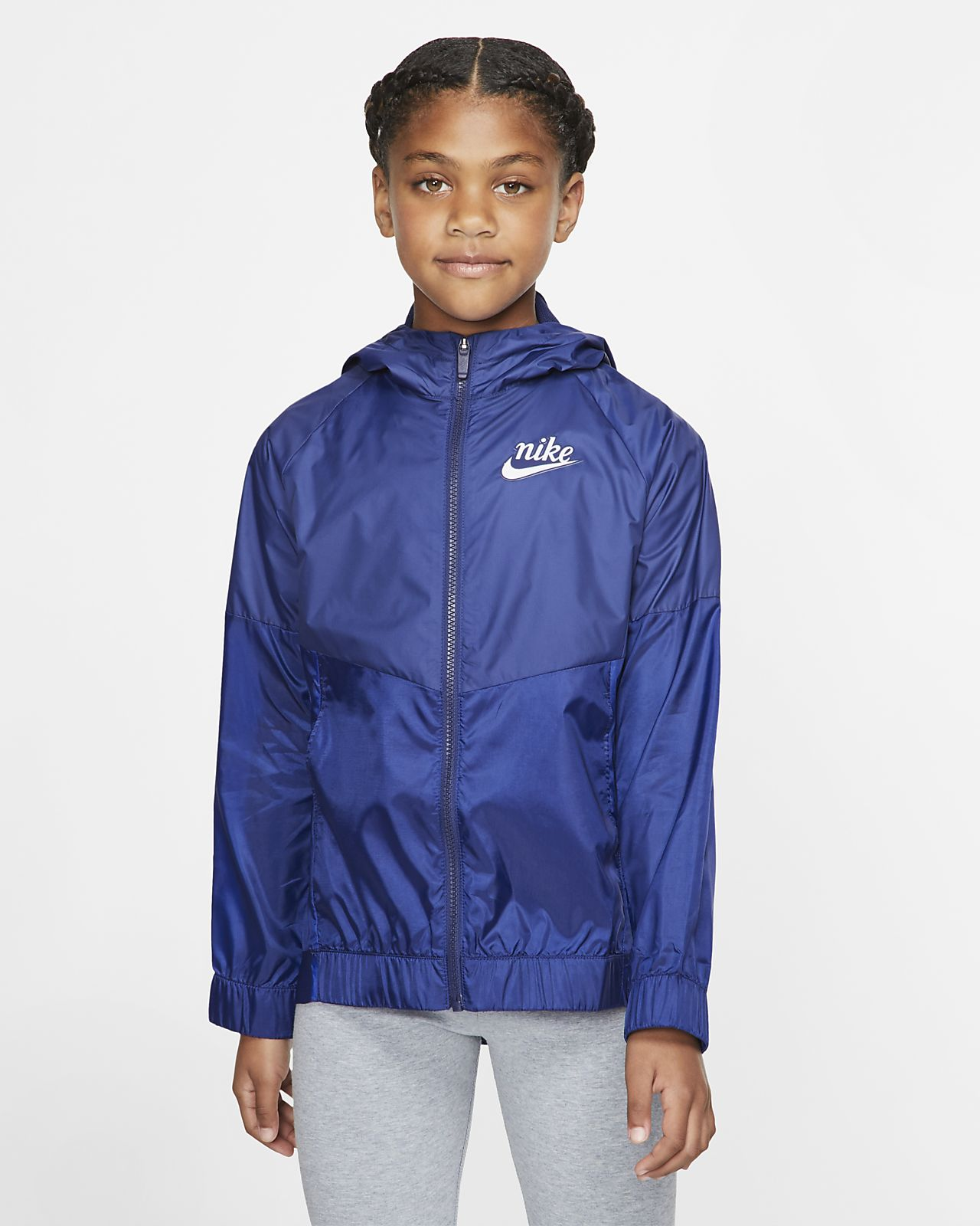 f8c8c677b855c Nike Sportswear Windrunner Big Kids' Jacket. Nike.com