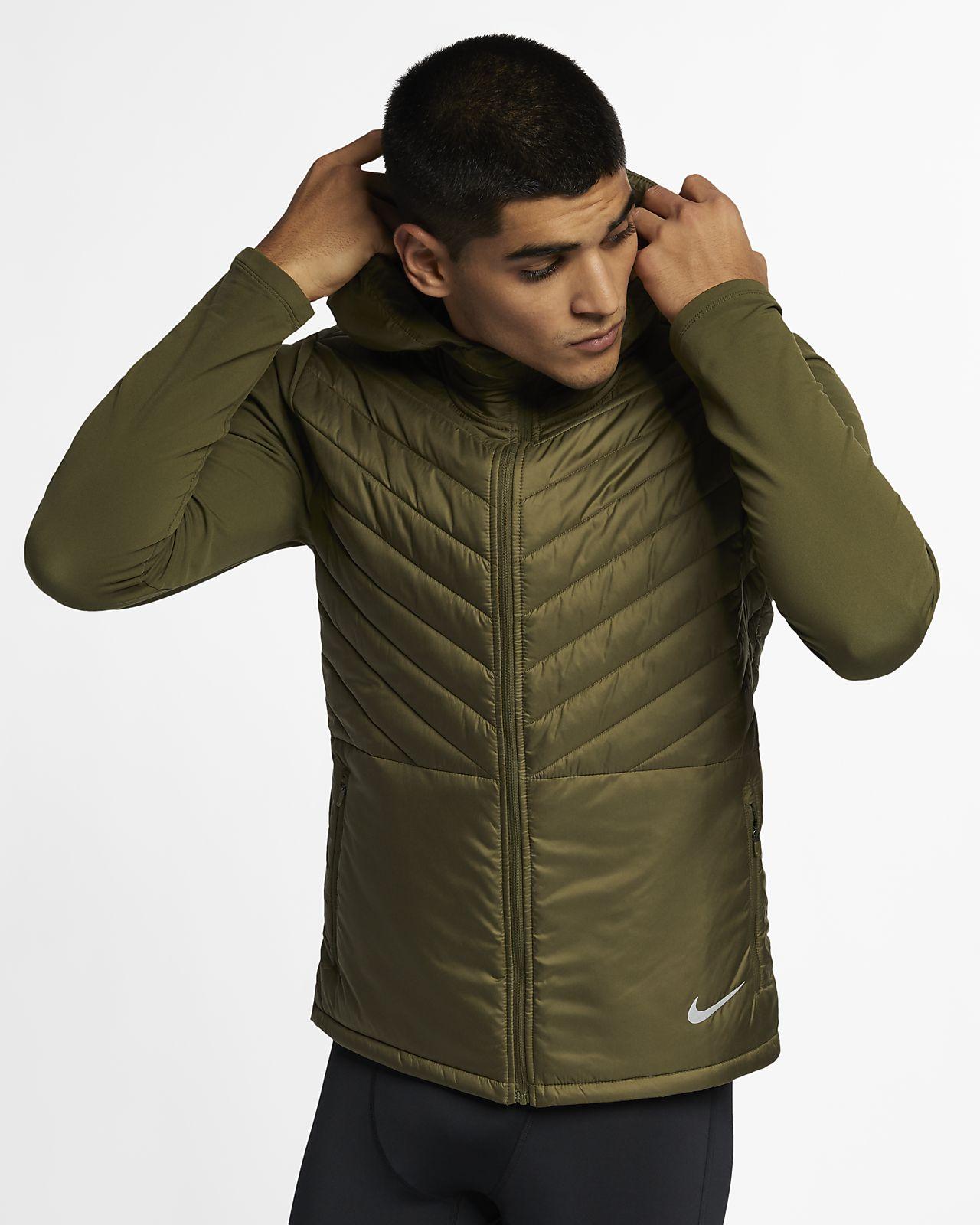 Мужская беговая куртка с капюшоном Nike AeroLayer