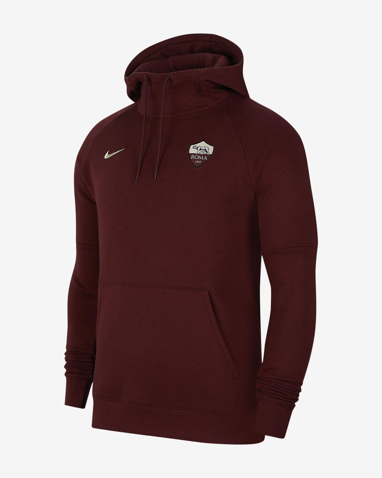 A.S. Roma Men's Fleece Pullover Hoodie