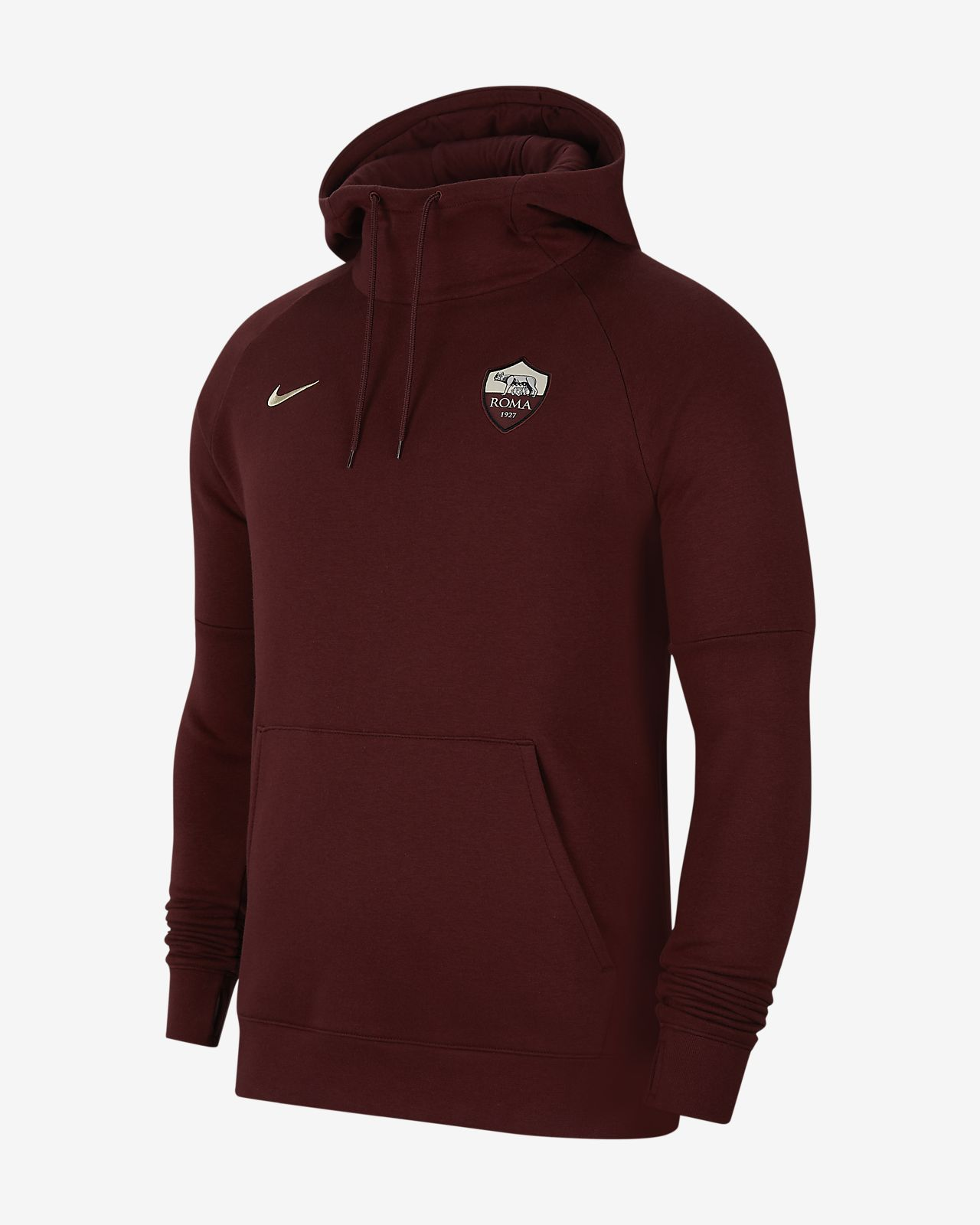 8a54b861cc A.S. Roma Men's Fleece Pullover Hoodie