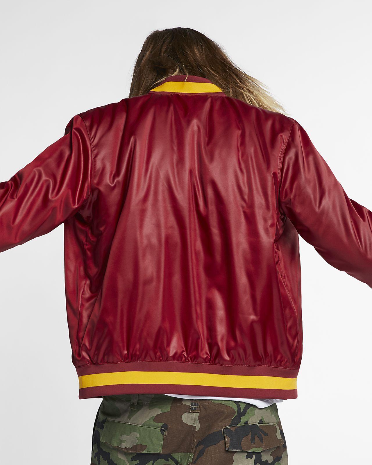 buy online c8f79 78755 ... Nike SB x NBA Men s Skate Bomber Jacket