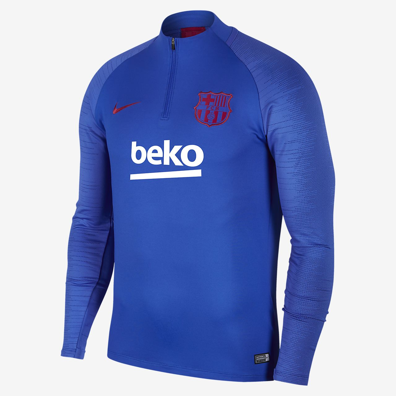 Haut de football Nike Dri-FIT FC Barcelona Strike pour Homme