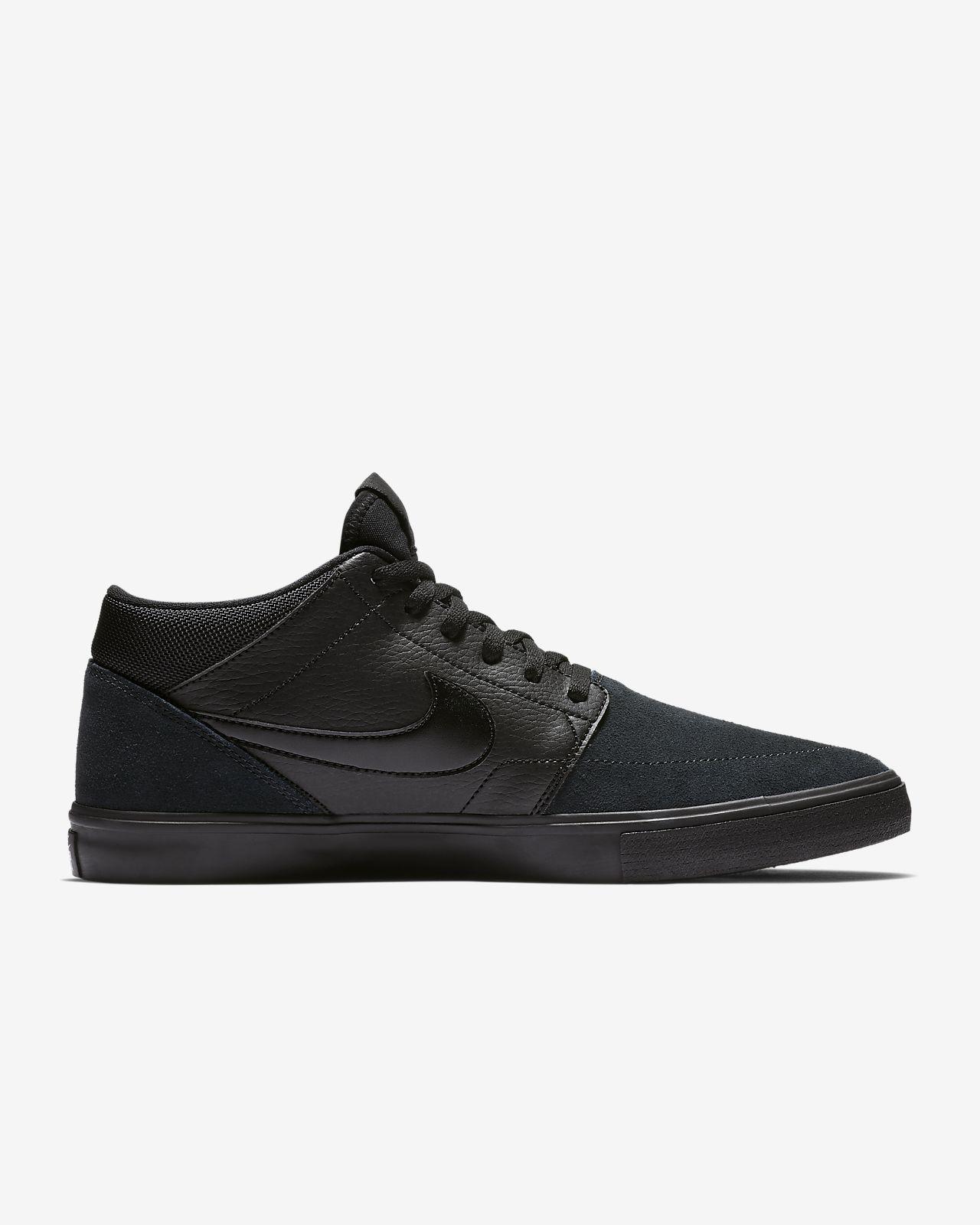 Nike SB Solarsoft Portmore II Mid Skateschoen voor heren