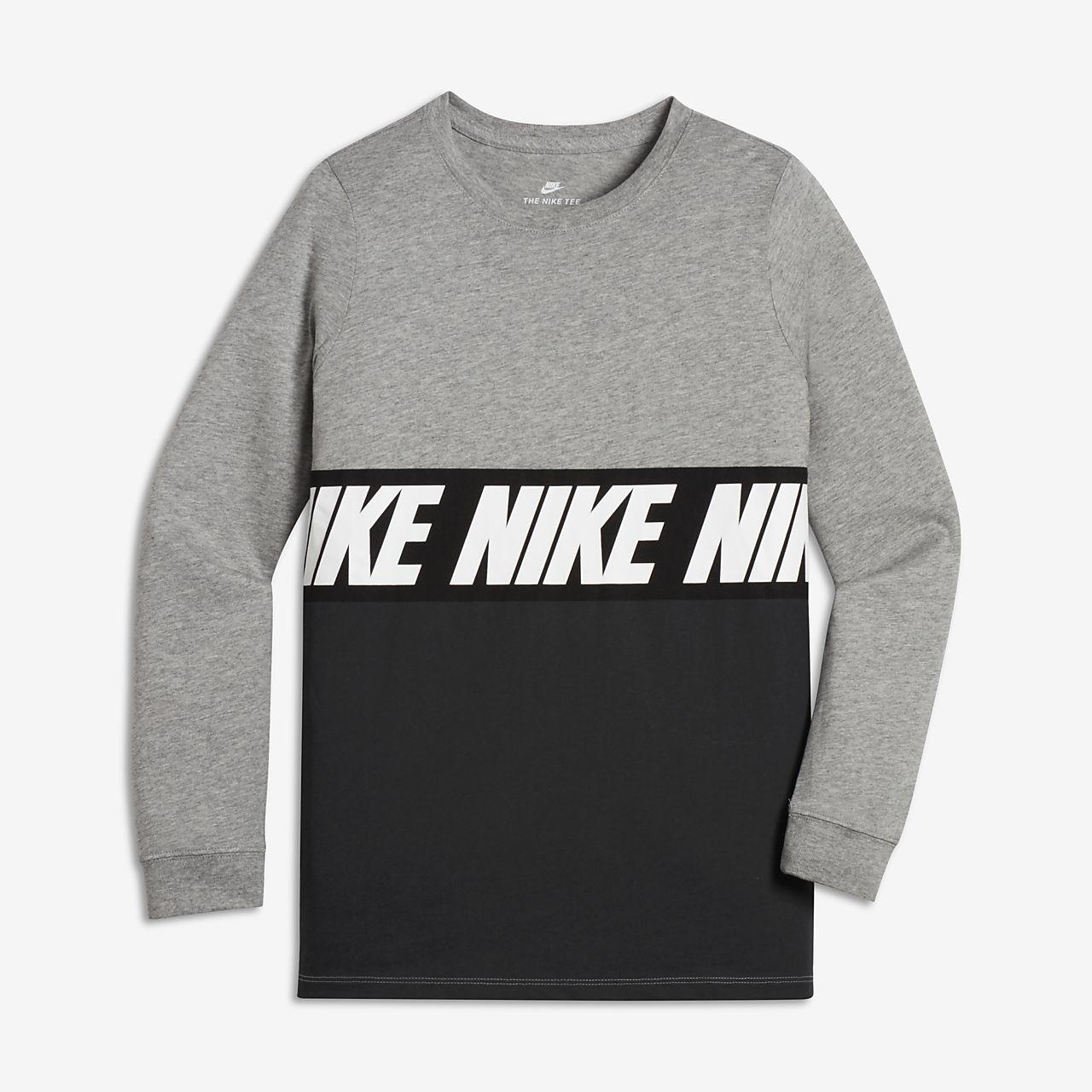 ... Nike Sportswear Advance 15 Older Kids' (Boys') Long-Sleeve T-