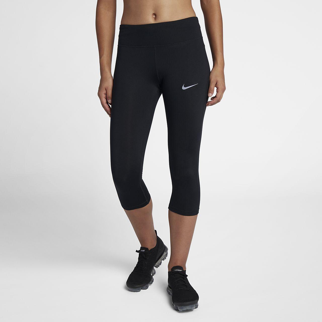 Pantalones de running tipo capri para mujer Nike Essential