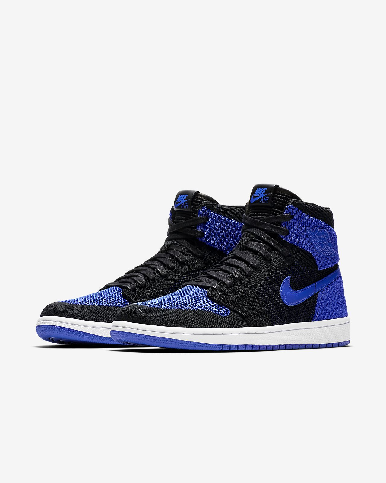 new product 38902 07bdd ... Air Jordan 1 Retro High Flyknit Herrenschuh