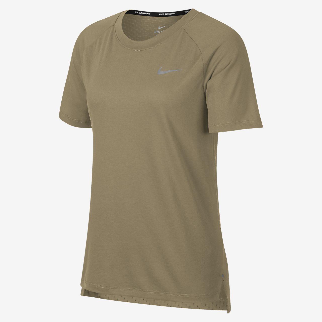 Nike Dri Fit Tailwind Women S Short Sleeve Running Top Nike Com