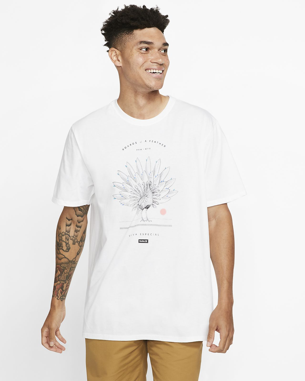 Playera para hombre Hurley Premium Boards of a Feather