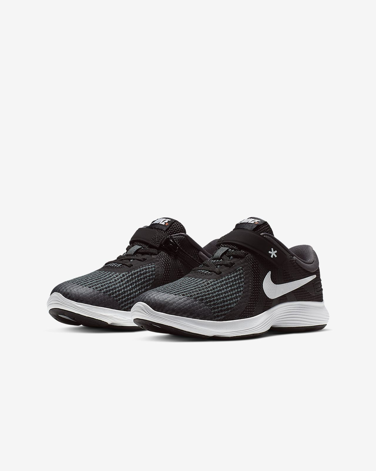3b5e6c02faf Nike Revolution 4 Flyease 4E Big Kids  Running Shoe. Nike.com