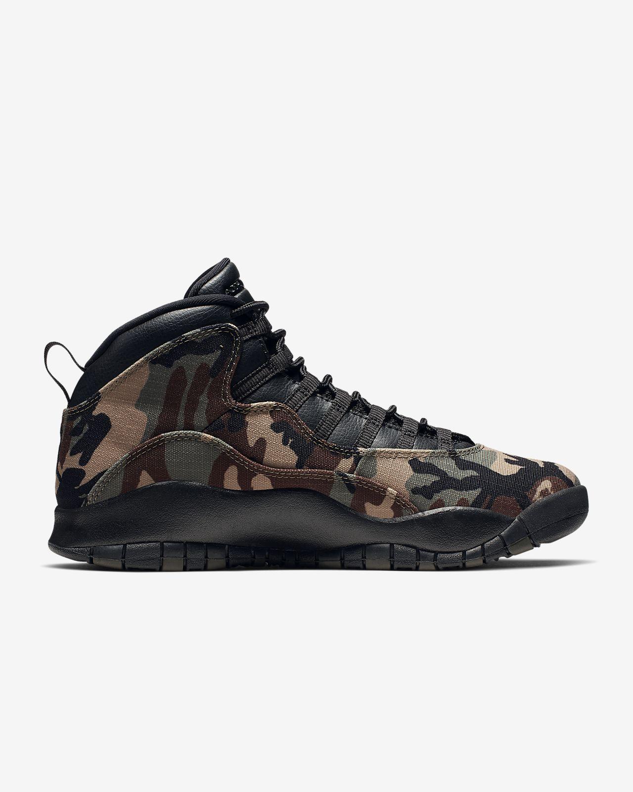 more photos 21247 7c298 Air Jordan 10 Retro Men's Shoe