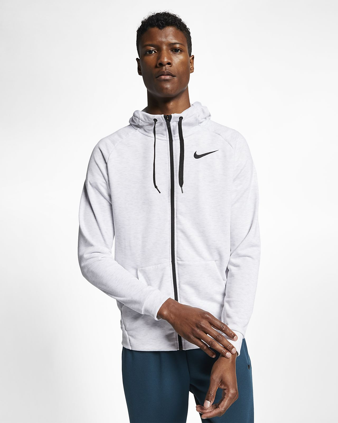 39ef9d29 Nike Dri-FIT Men's Full-Zip Training Hoodie. Nike.com