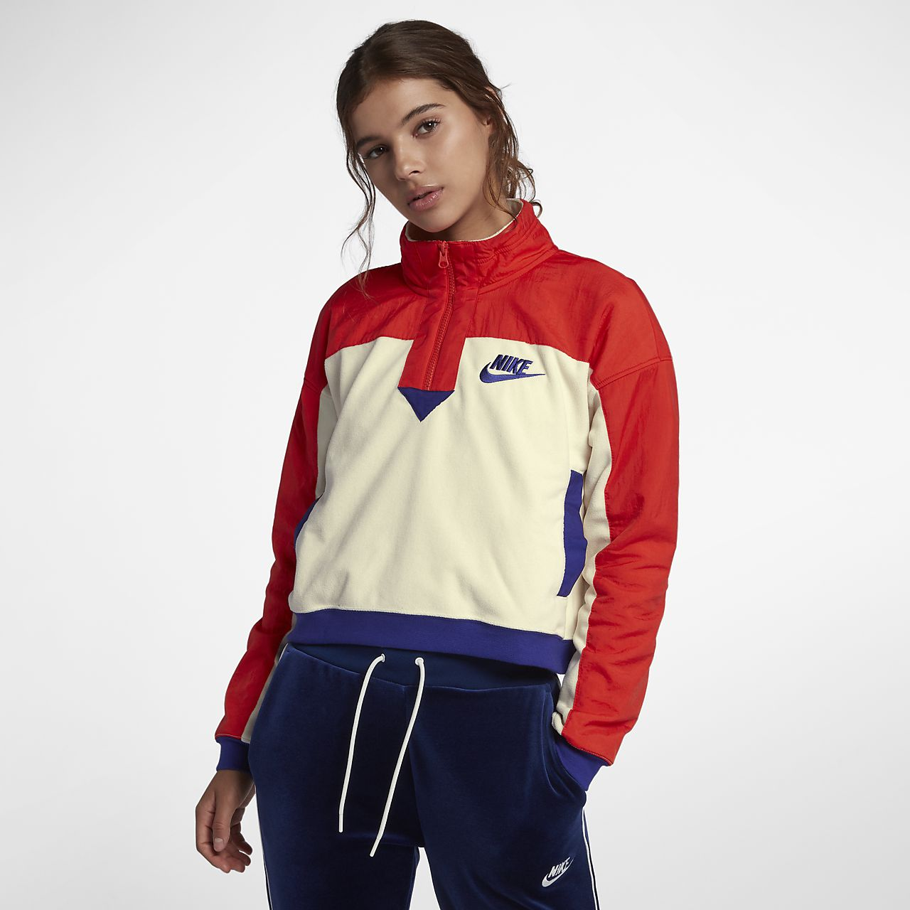 Nike Sportswear Women s Half-Zip Top. Nike.com IL 4bee5217a