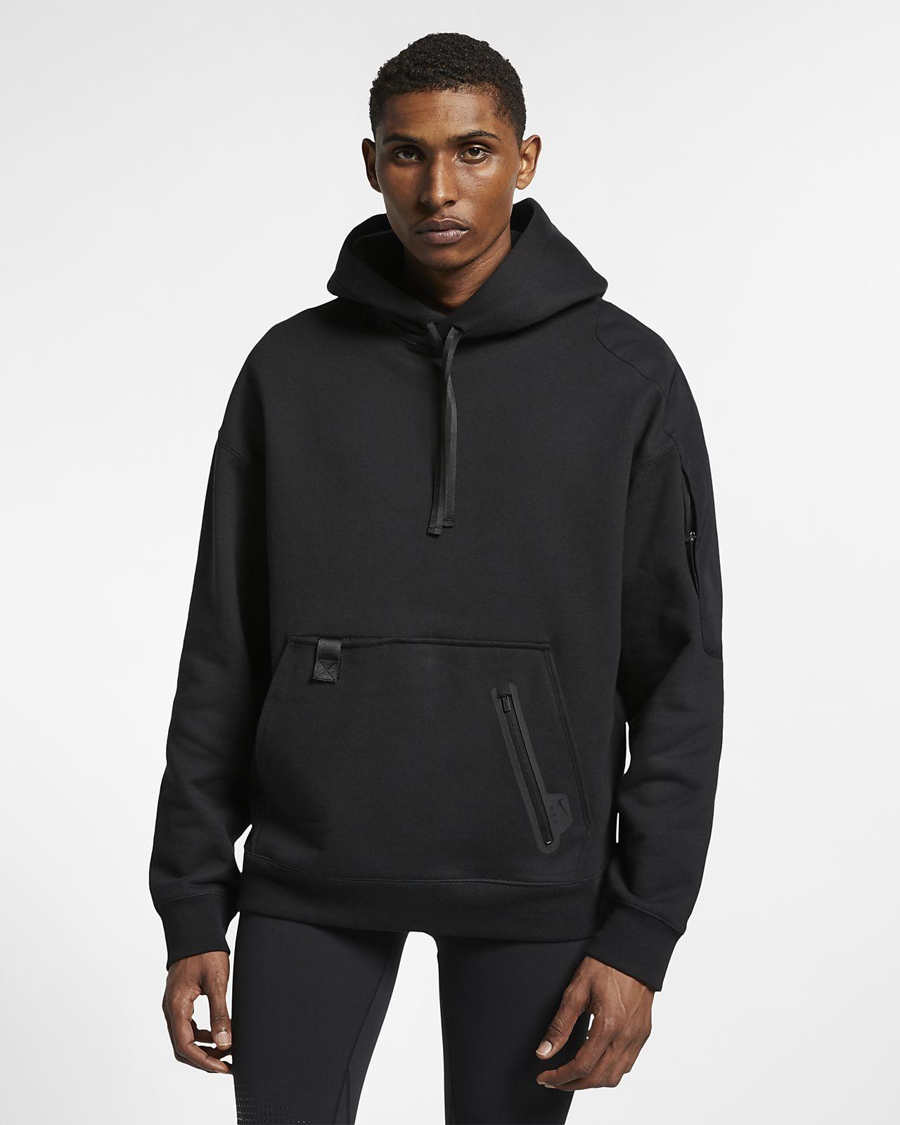 เสื้อมีฮู้ดผู้ชายแบบสวม Nike x MMW