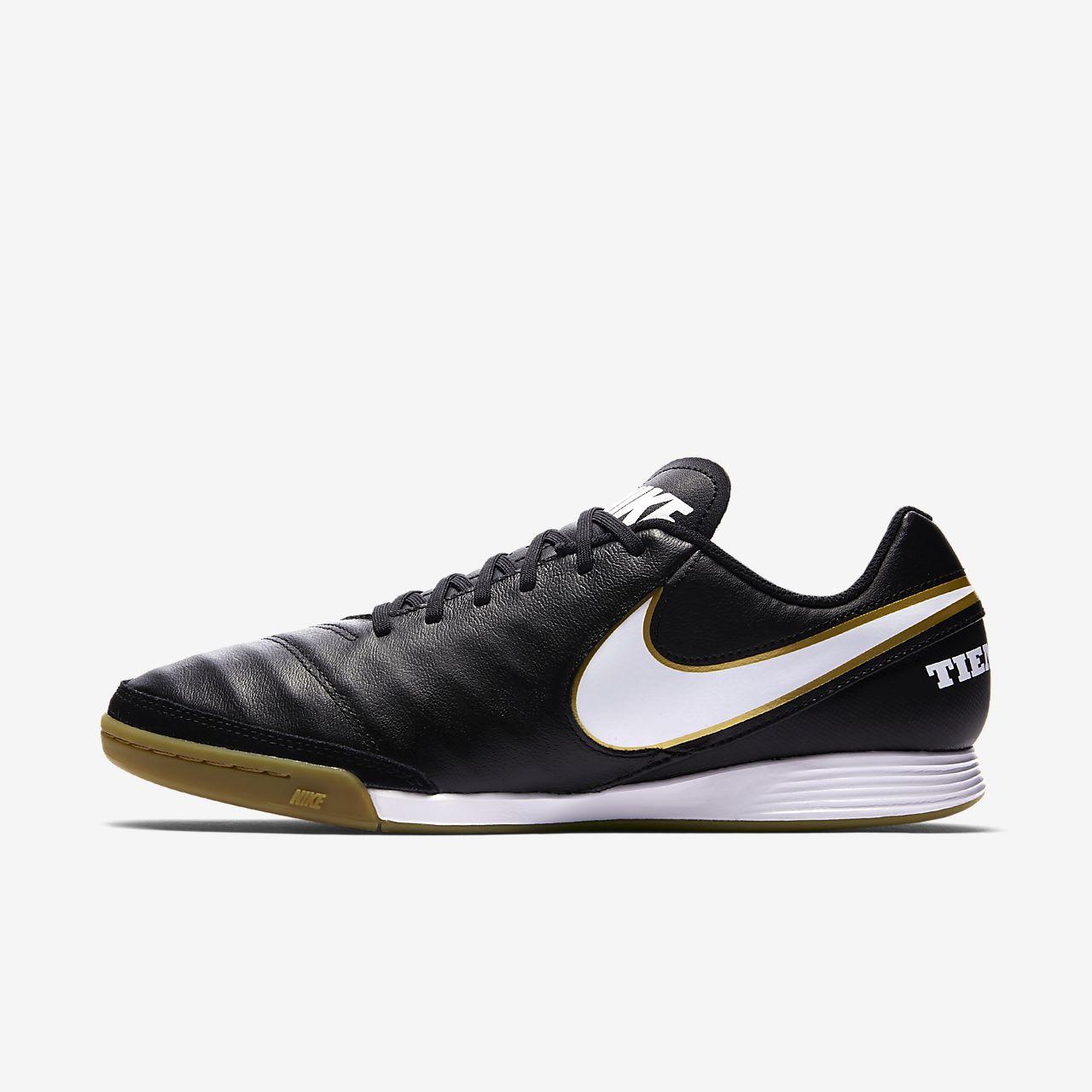 ... Nike Tiempo Genio II Leather Fußballschuh für Hallen- und Hartplatz