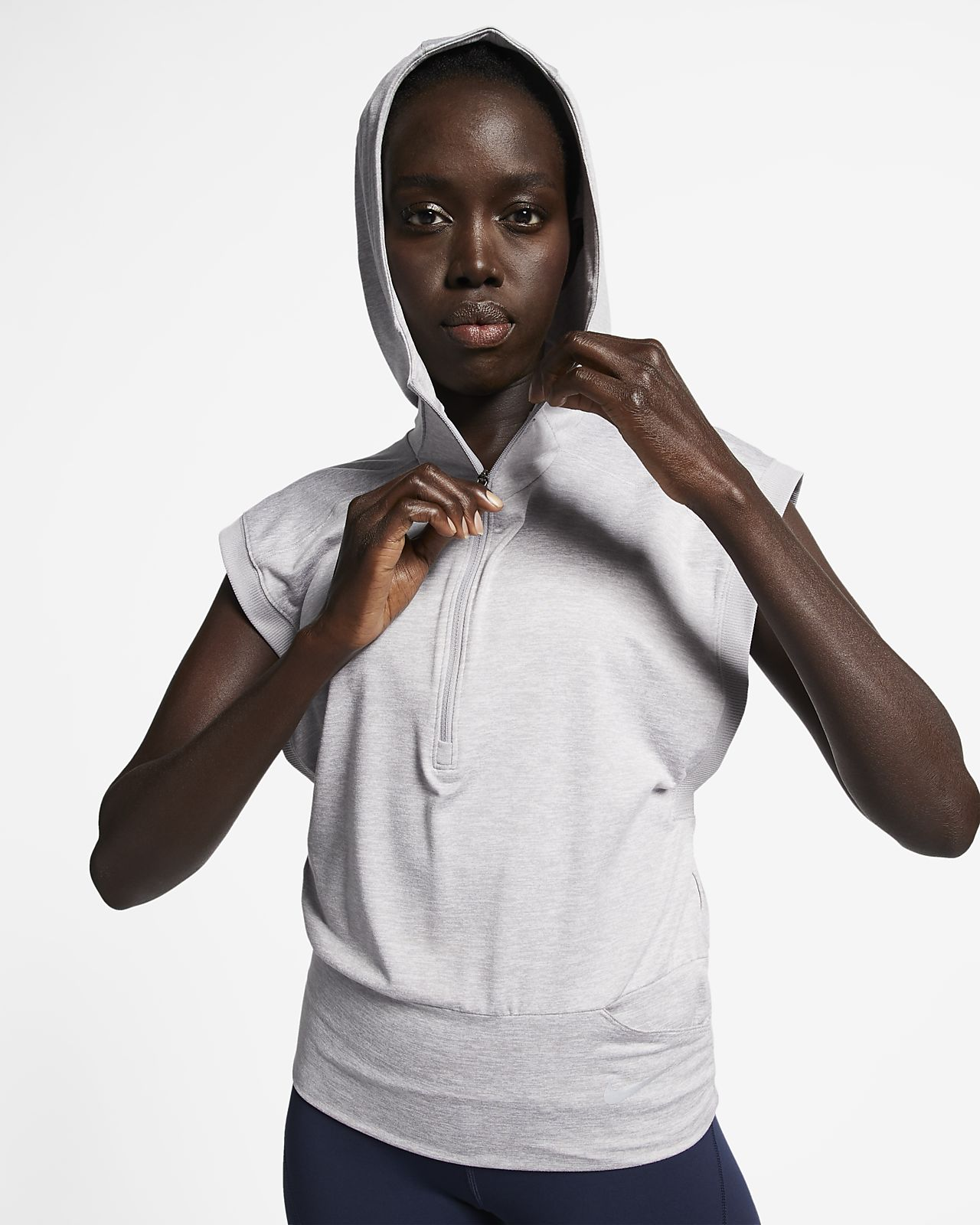 Nike Women's Sleeveless Running Hoodie