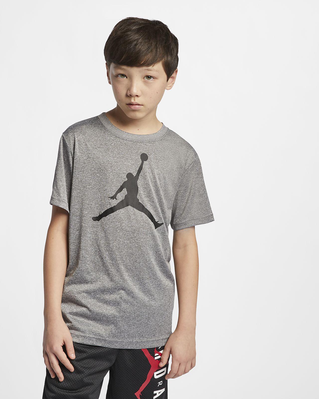 69557634959b Jordan Dri-FIT Big Kids  (Boys ) T-Shirt. Nike.com