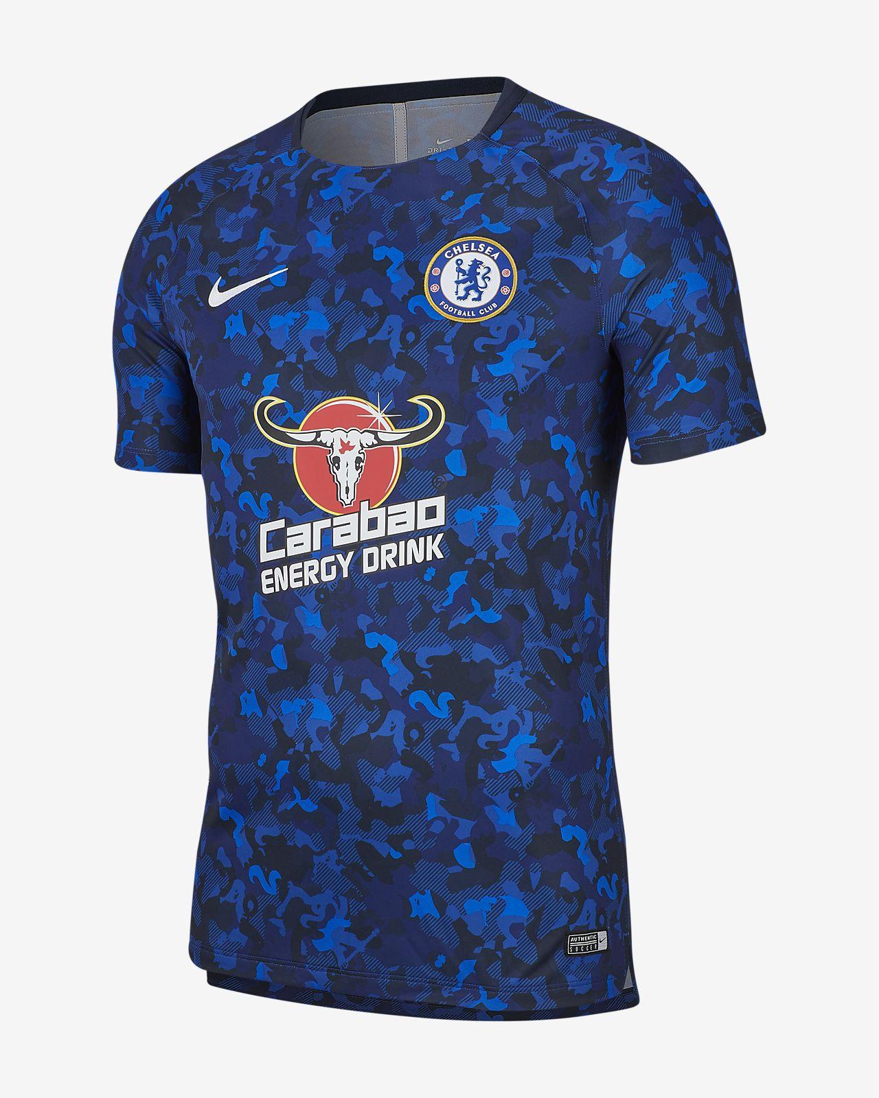 Top de fútbol para hombre Chelsea FC Dri-FIT Squad