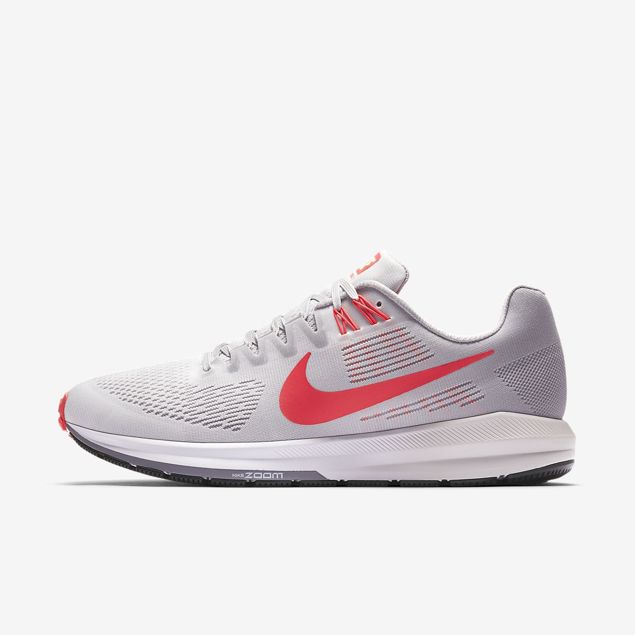 New Nike- Air Zoom Structure 21 Running Shoes Vast Grey/Atmosphere Grey/Gunsmoke