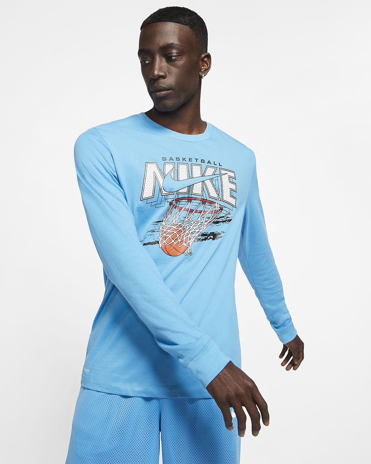 "Nike Dri-FIT ""Swish"" Men's Long-Sleeve Basketball T-Shirt"