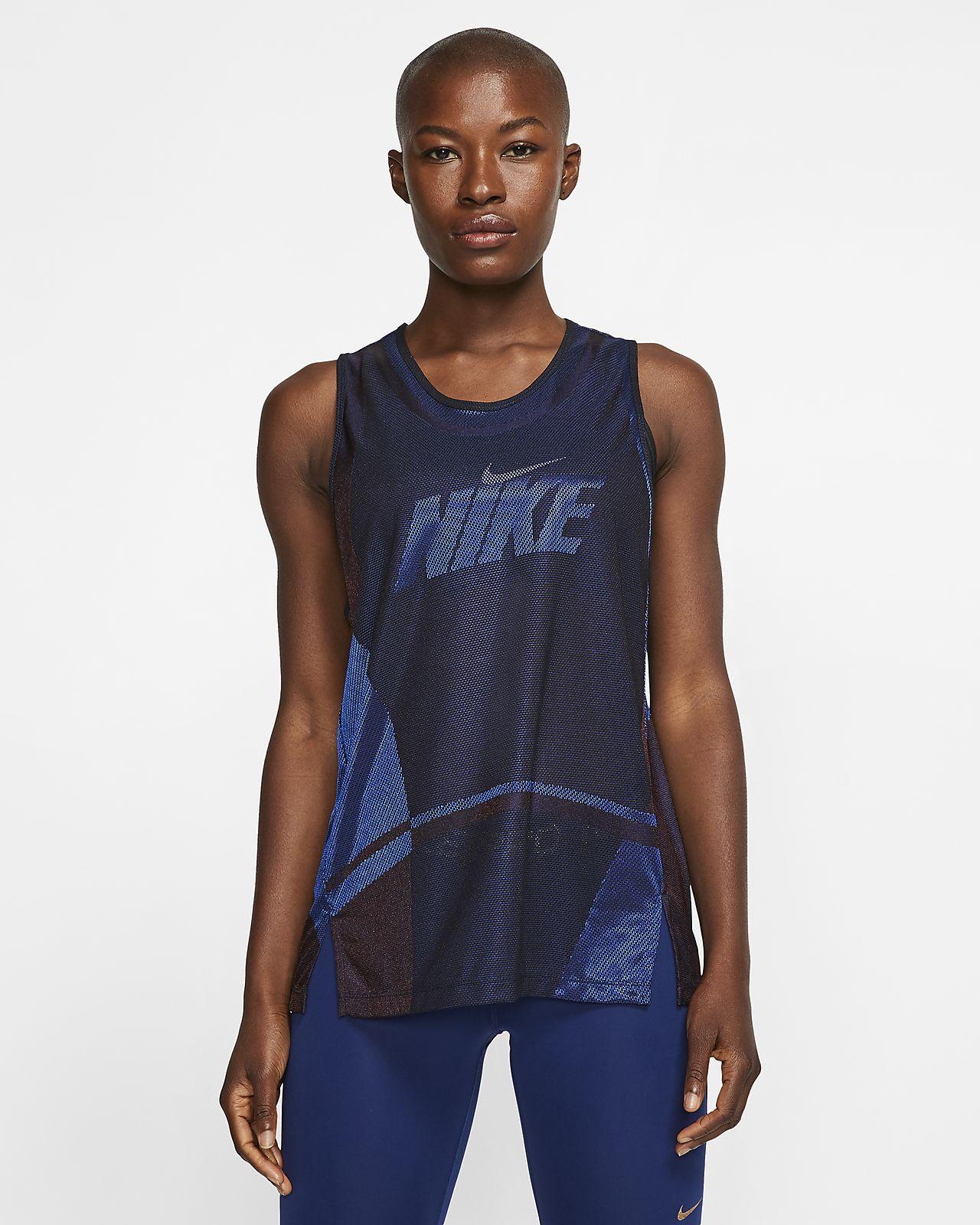 Damska koszulka treningowa bez rękawów Nike Icon Clash