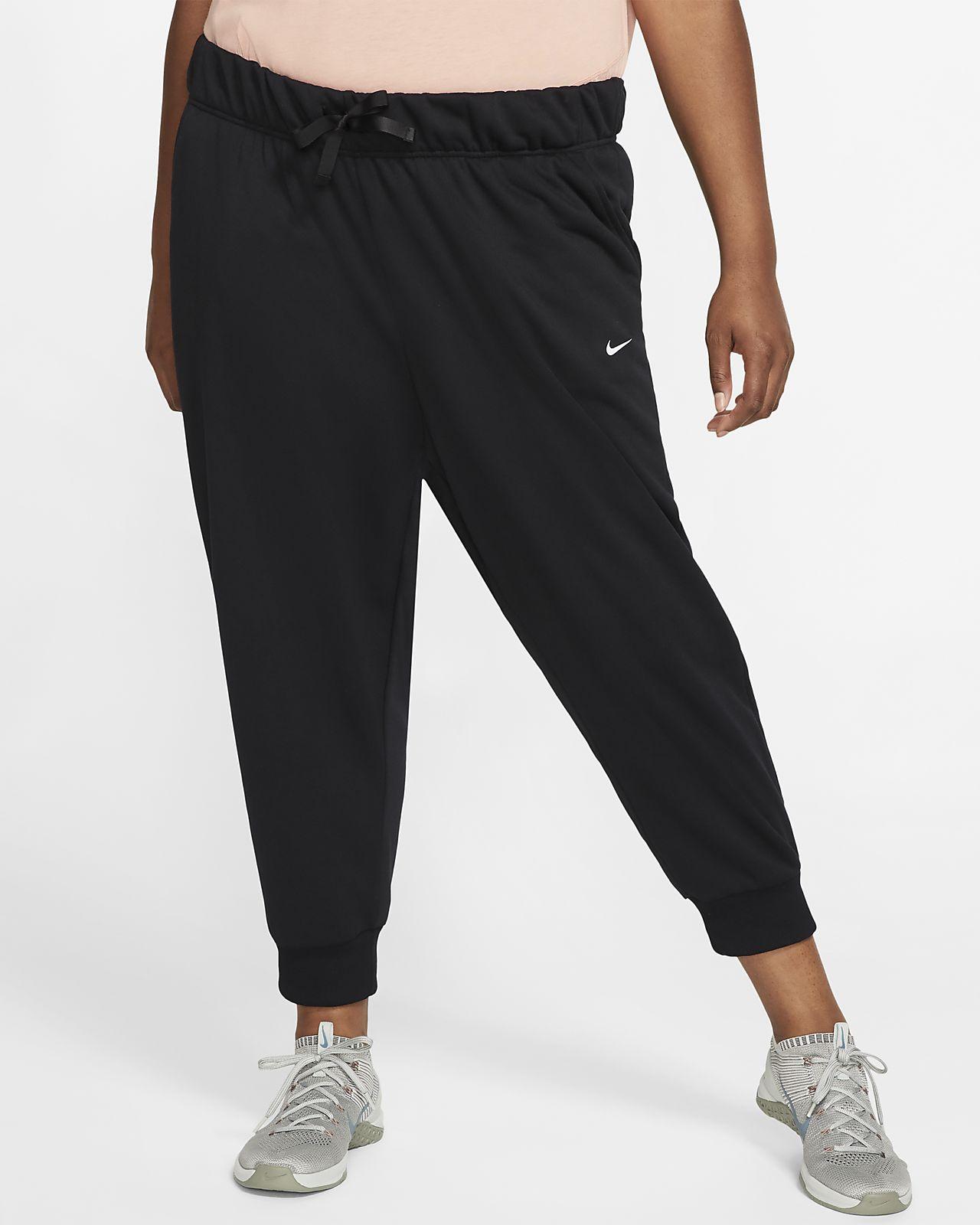 Nike Dri-FIT One Women's Fleece Pants (Plus Size)