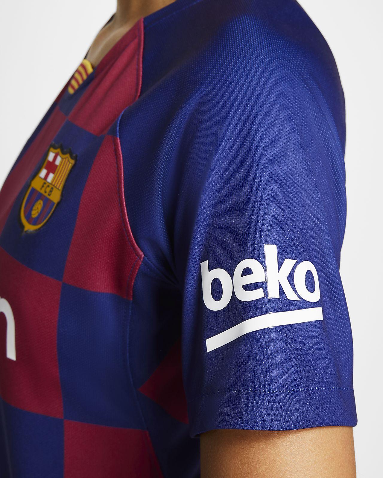 new arrivals df513 5fcdc FC Barcelona 2019/20 Stadium Home Women's Soccer Jersey