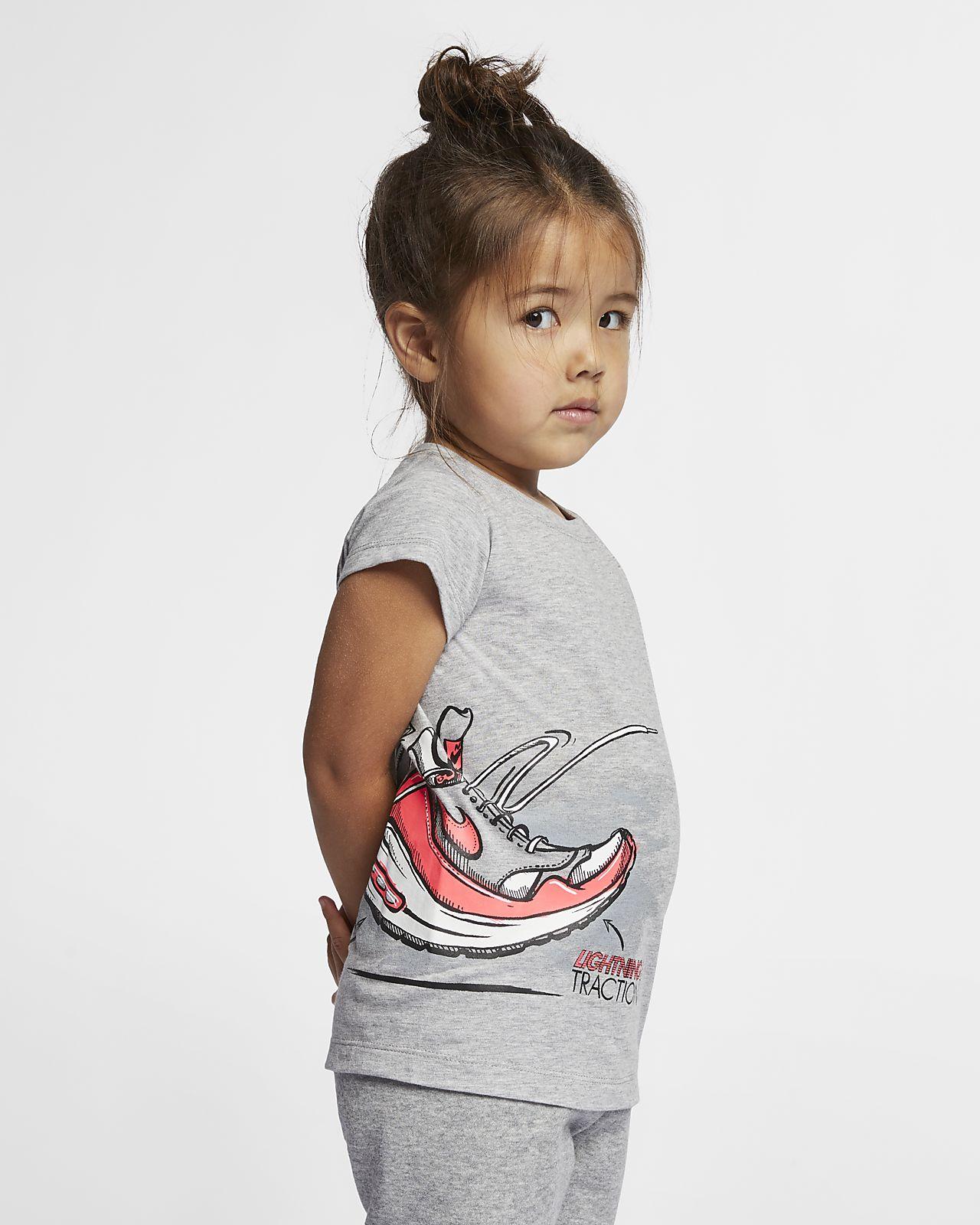 low priced b9439 56fc6 Nike Air Max 1 DNA T-shirt voor kleuters (meisjes)