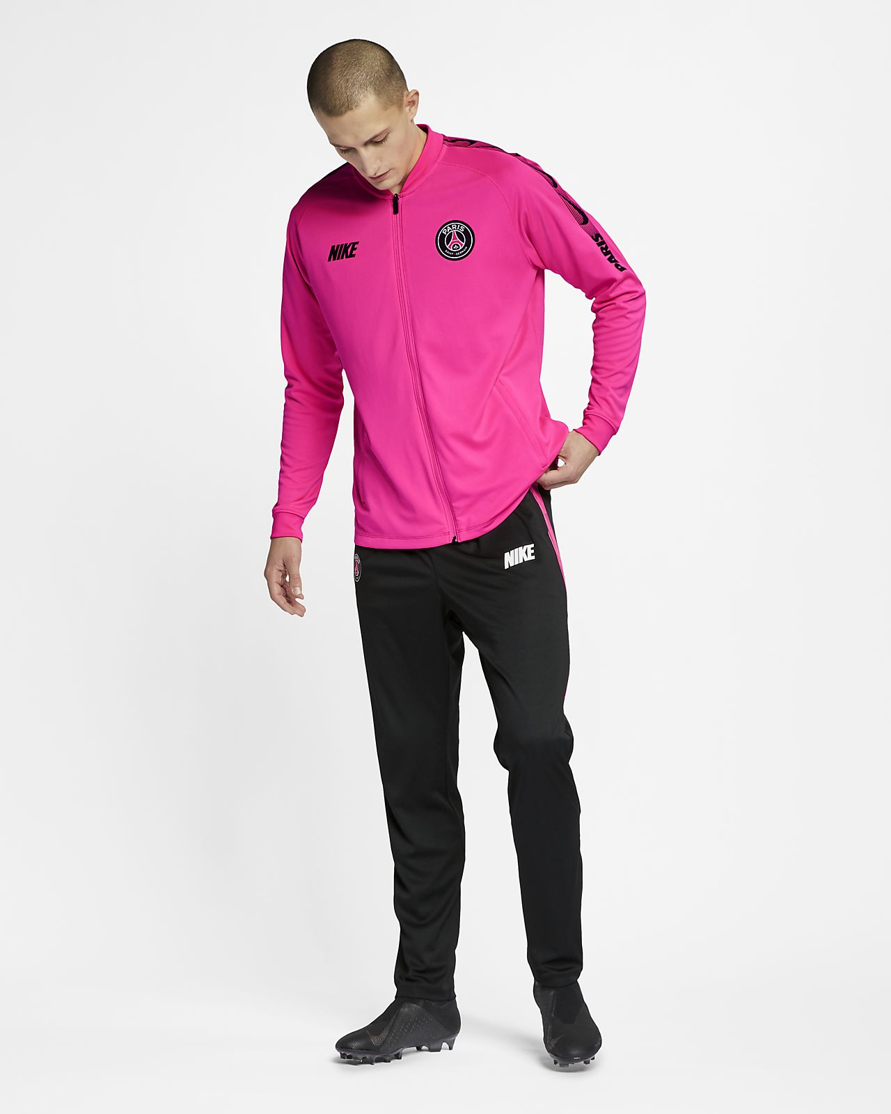 abe6c18a72e9f ... Conjunto de entrenamiento de fútbol para hombre Paris Saint-Germain  Dri-FIT Squad