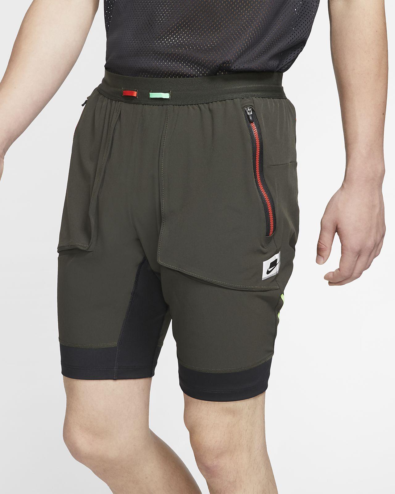 Shorts da running ibridi Nike Wild Run - Uomo
