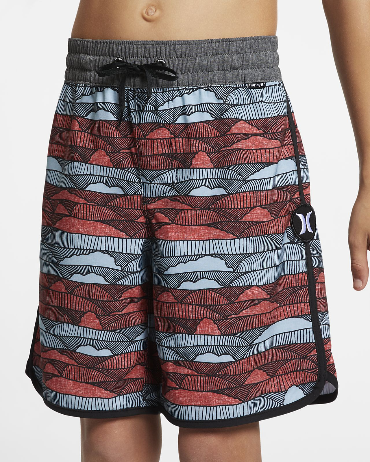 "Hurley Phantom Lines Boys' 16"" Board Shorts"