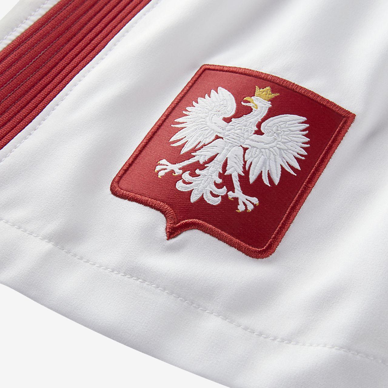 2016 Poland Stadium Home/Away Men\u0027s Football Shorts. Nike.com AE