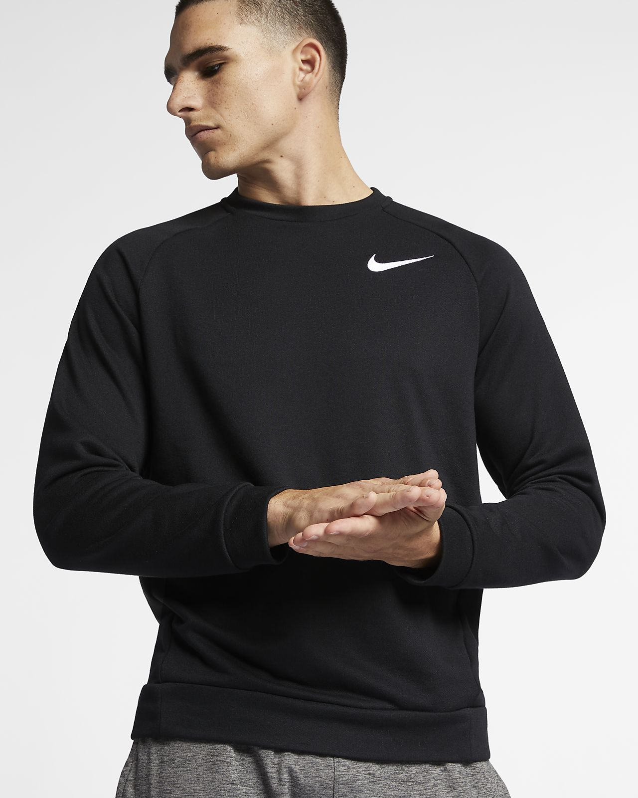 Nike Dri-FIT Trainingstop met fleece voor heren