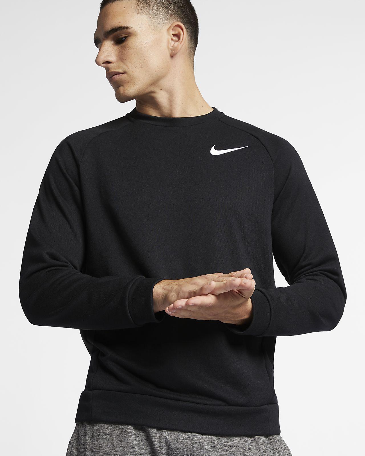 Träningströja i fleece Nike Dri-FIT för män