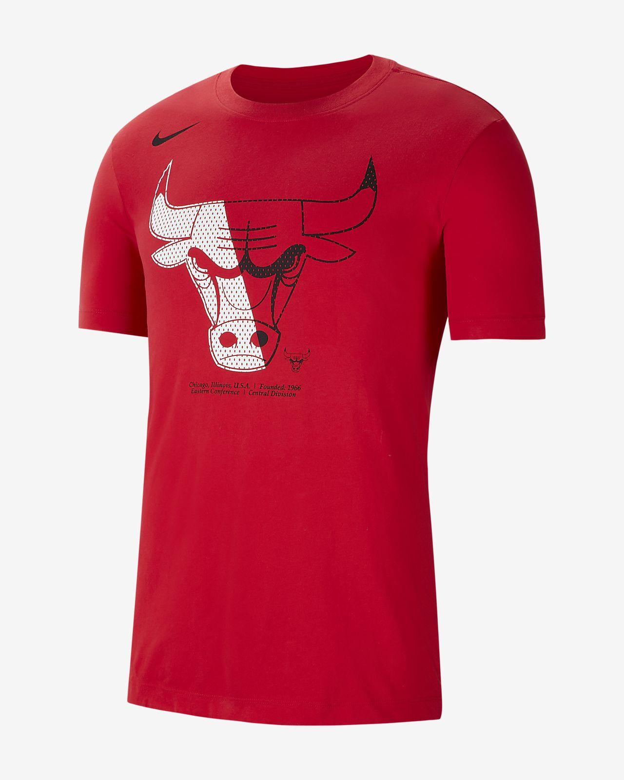 Tee-shirt NBA Chicago Bulls Nike Dri-FIT pour Homme