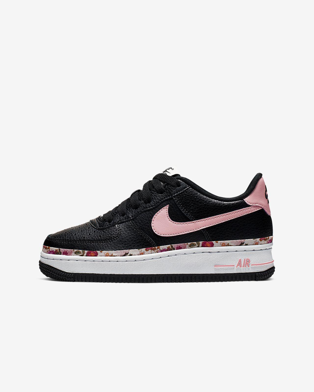 Nike Air Force 1 Vintage Floral Genç Çocuk Ayakkabısı