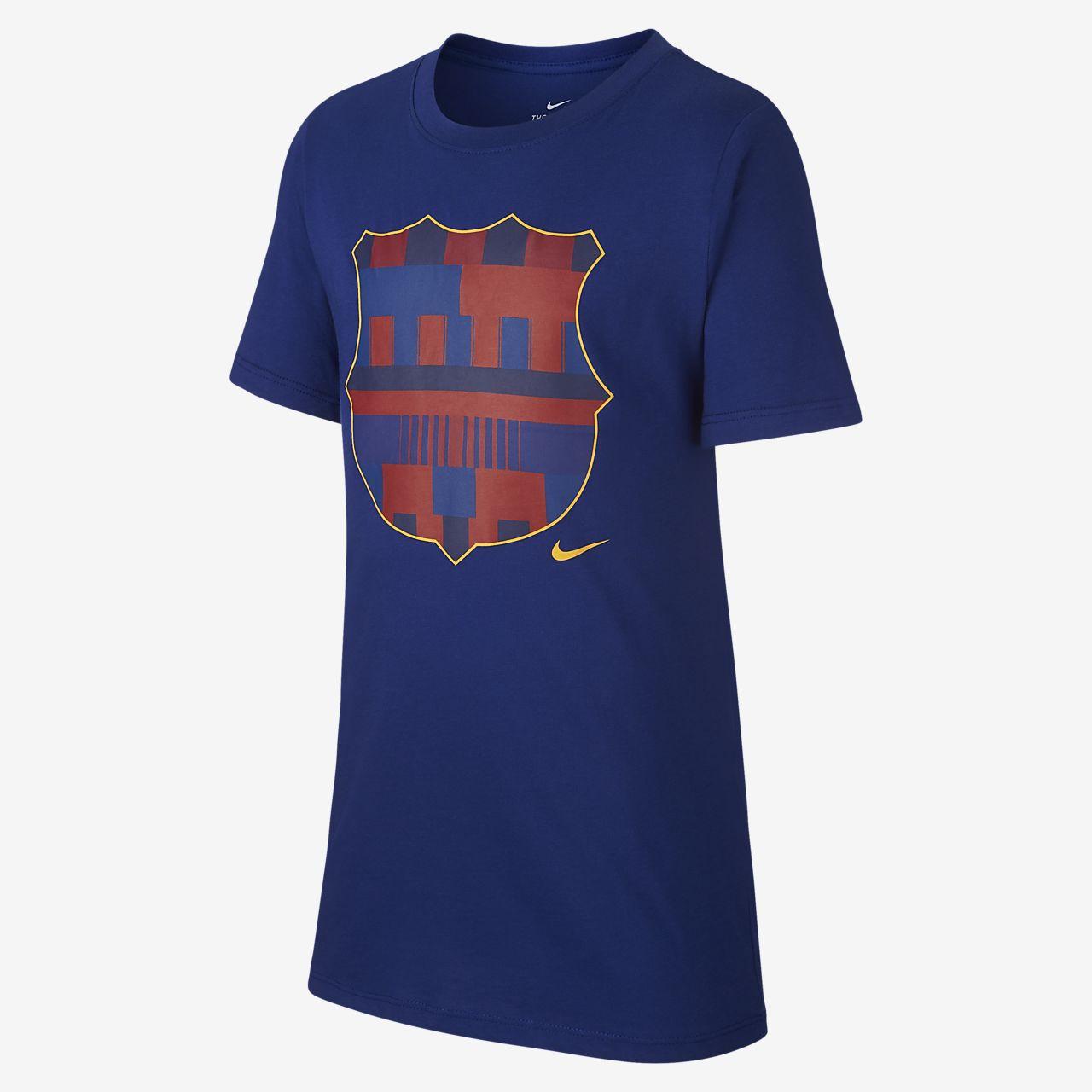 FC Barcelona Older Kids  (Boys ) T-Shirt. Nike.com IE 1d48f8bd8f4