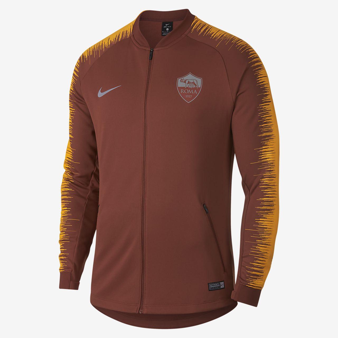 Мужская футбольная куртка A.S. Roma Anthem