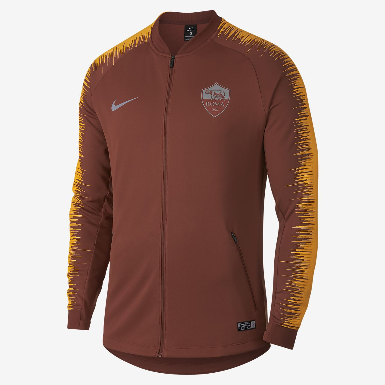 A.S. Roma Anthem Men s Football Jacket. Nike.com GB 337cc5098