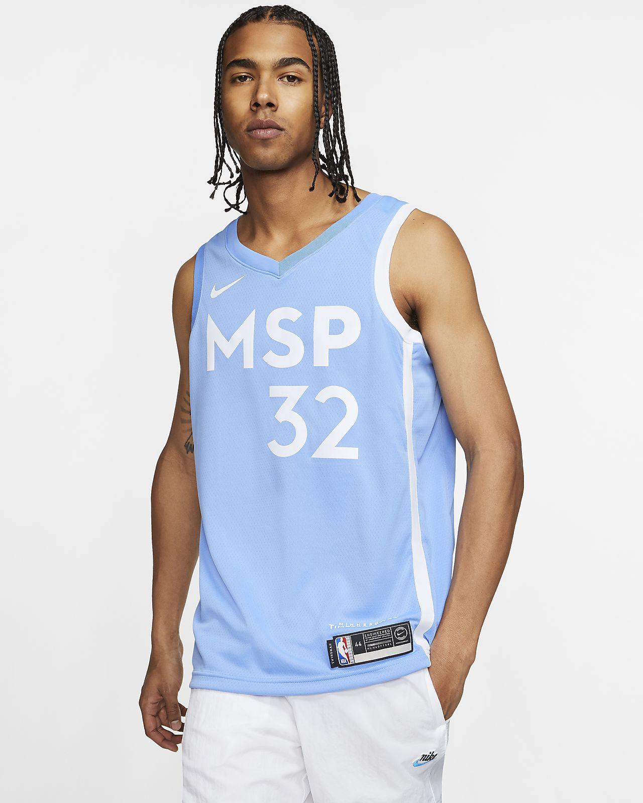 Karl Anthony Towns Timberwolves City Edition Nike Nba Swingman