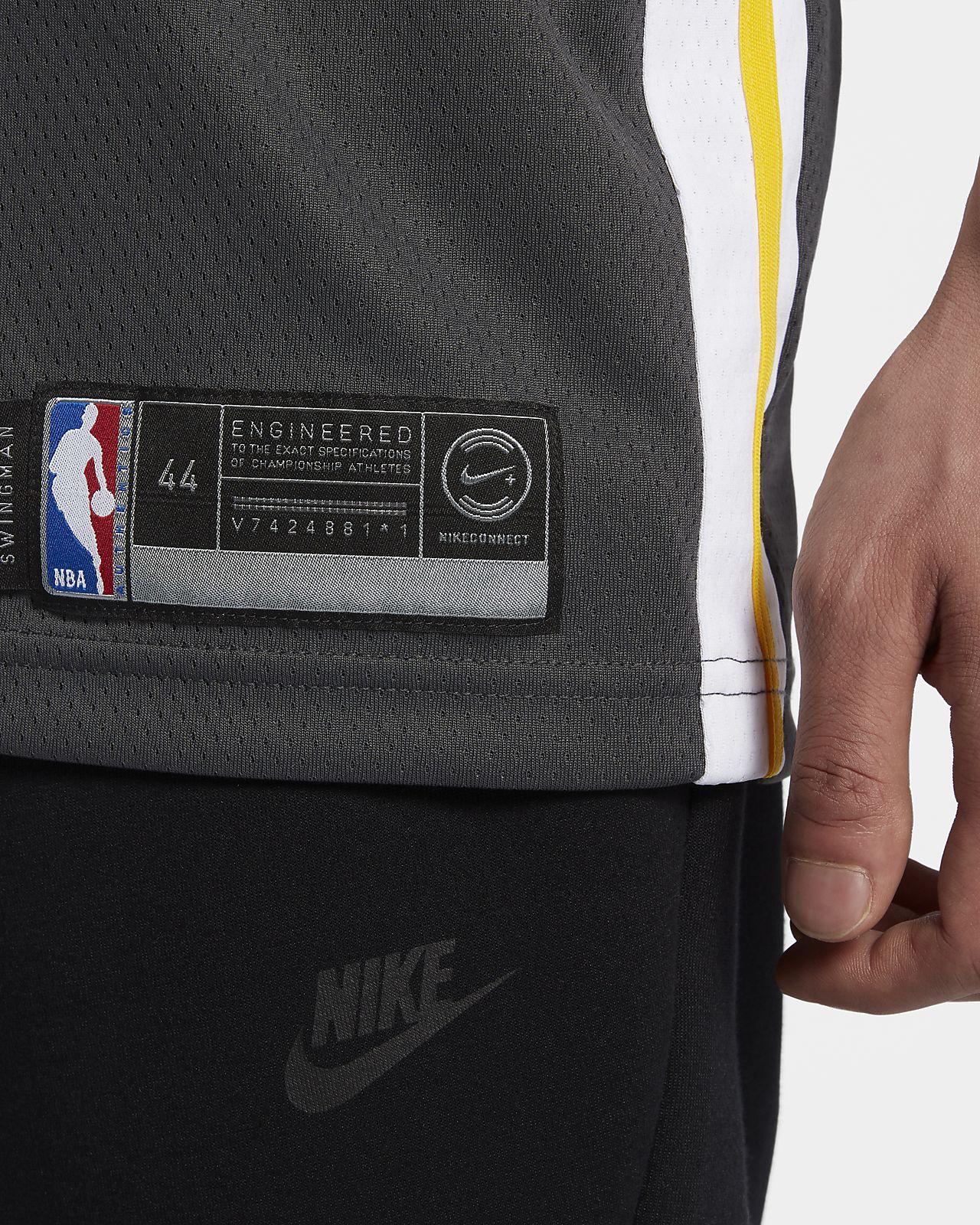 deef0bdb ... Stephen Curry Statement Edition Swingman (Golden State Warriors) Men's  Nike NBA Connected Jersey