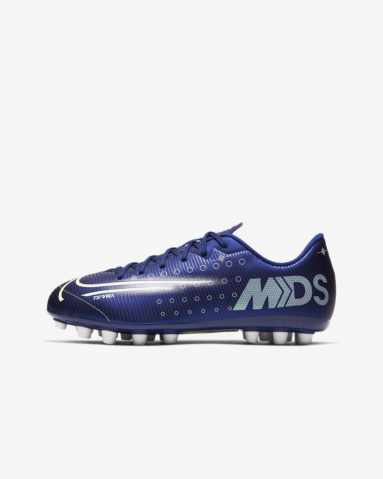 Nike Jr. Mercurial Vapor 13 Academy MDS AG Botes de futbol per a gespa artificial - Nen/a i nen/a petit/a