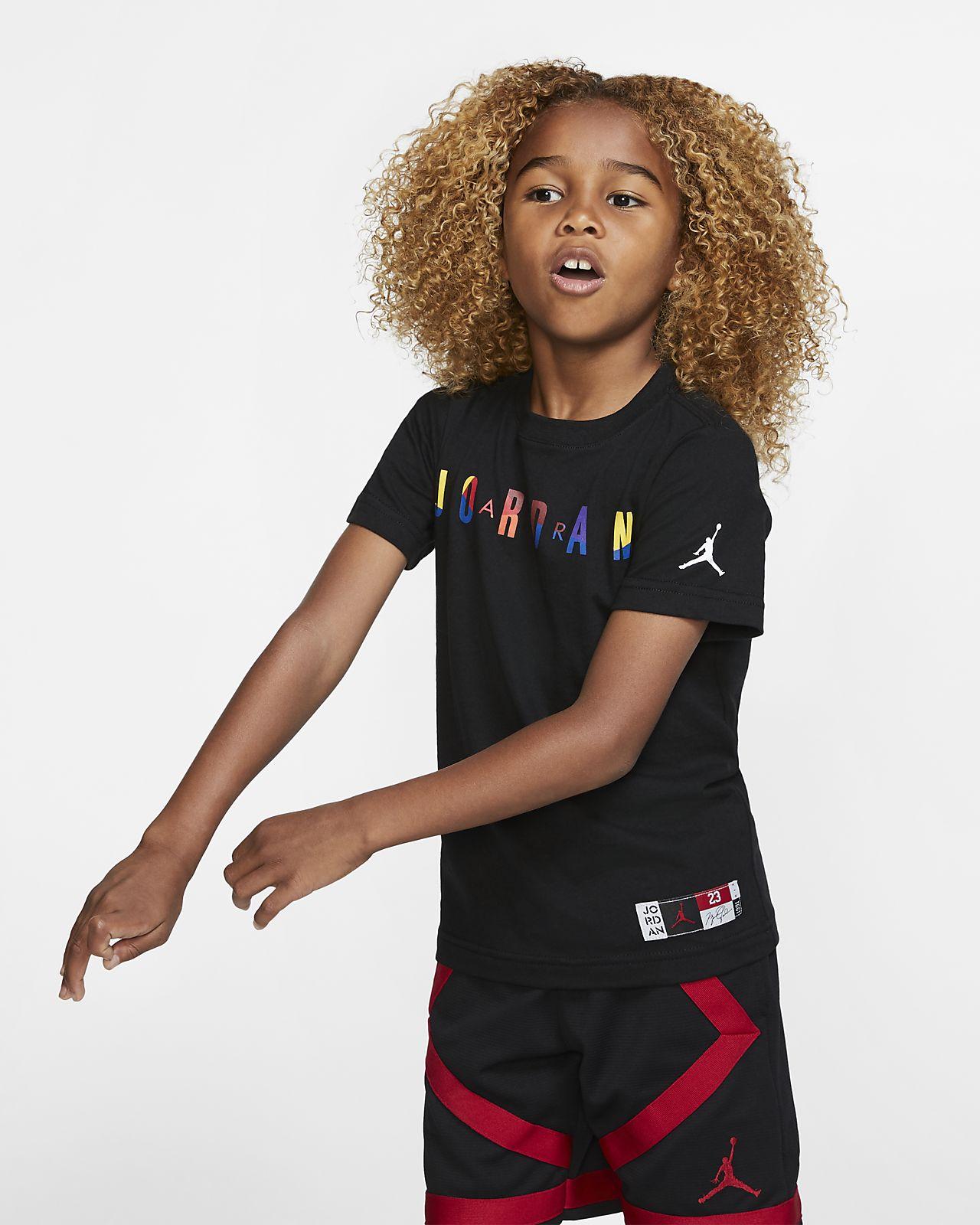 T-shirt de manga curta Jordan Air para criança